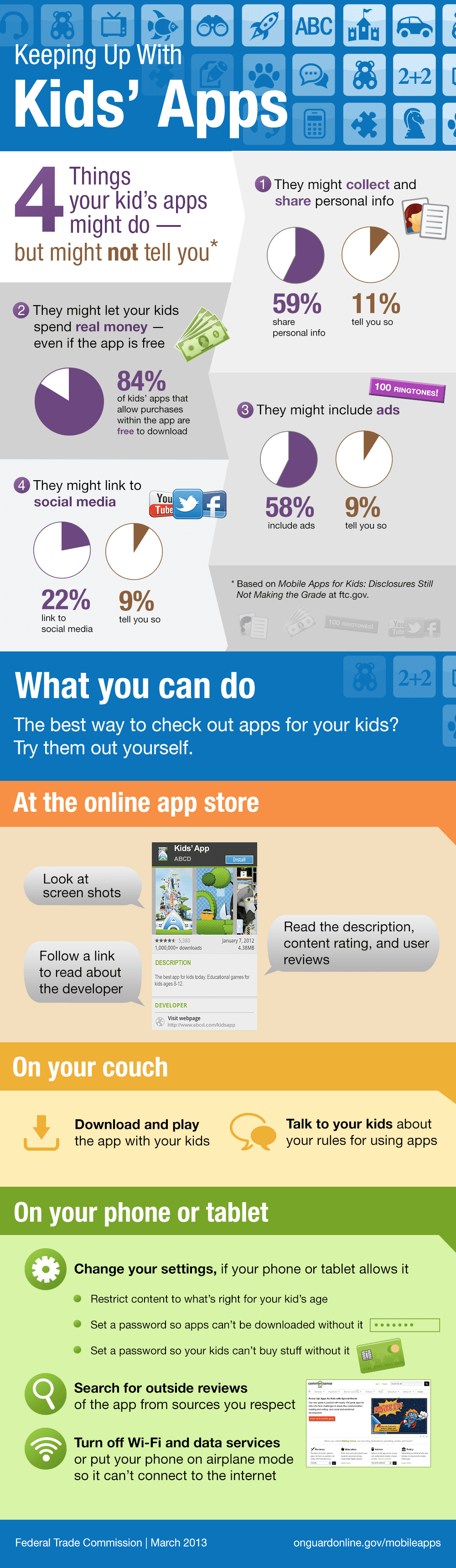 Kids and mobile apps