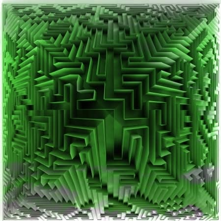 Internet Maze Abstract Social Networks