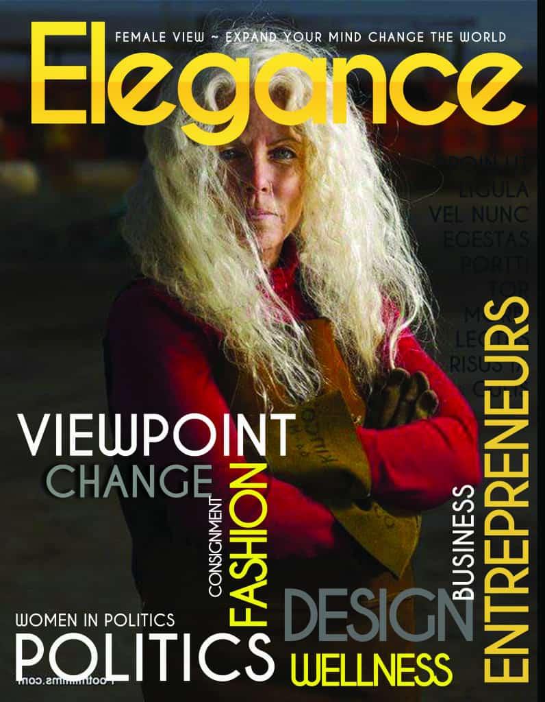 Elegance Magazine Sample Draft Cover