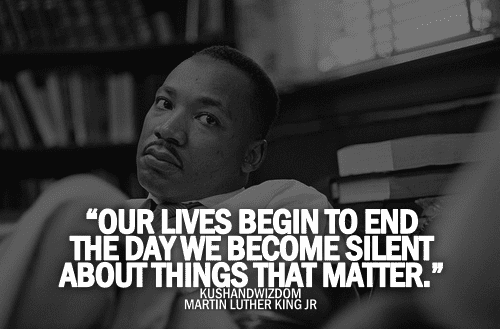 Martin Luther King, Jr. Our Lives