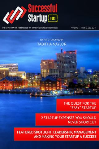 Successful Startup 101 Issue 8 by Tabitha Naylor
