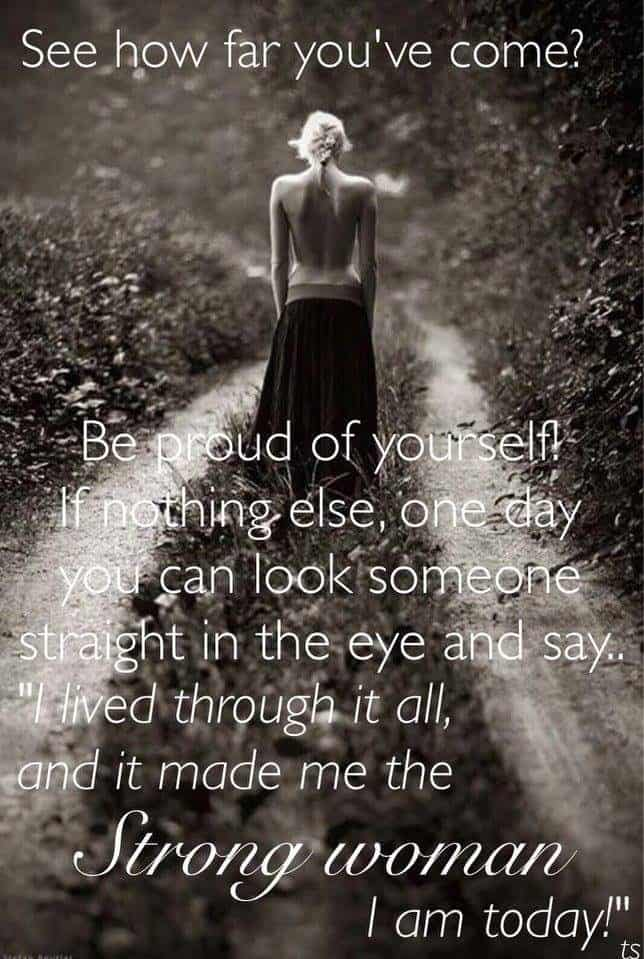 Strong Woman Affirmation