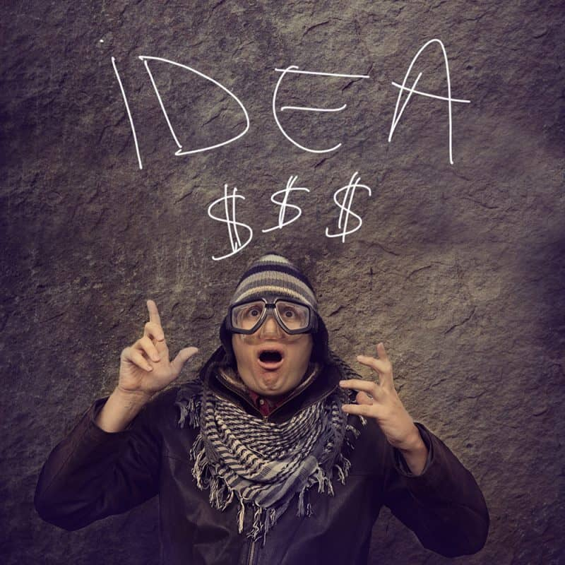 Idea's come at all stages of life